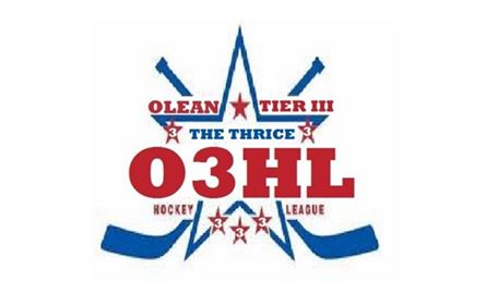 The Olean Men's Hockey League Tier 3 logo