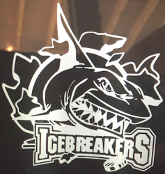 IceBreakers Window Decal