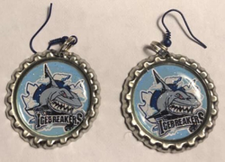IceBreakers Bottle Cap Earrings